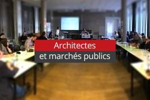Les architectes et la commande publique
