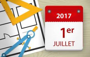 Architectes : qui change au 1er juillet 2017