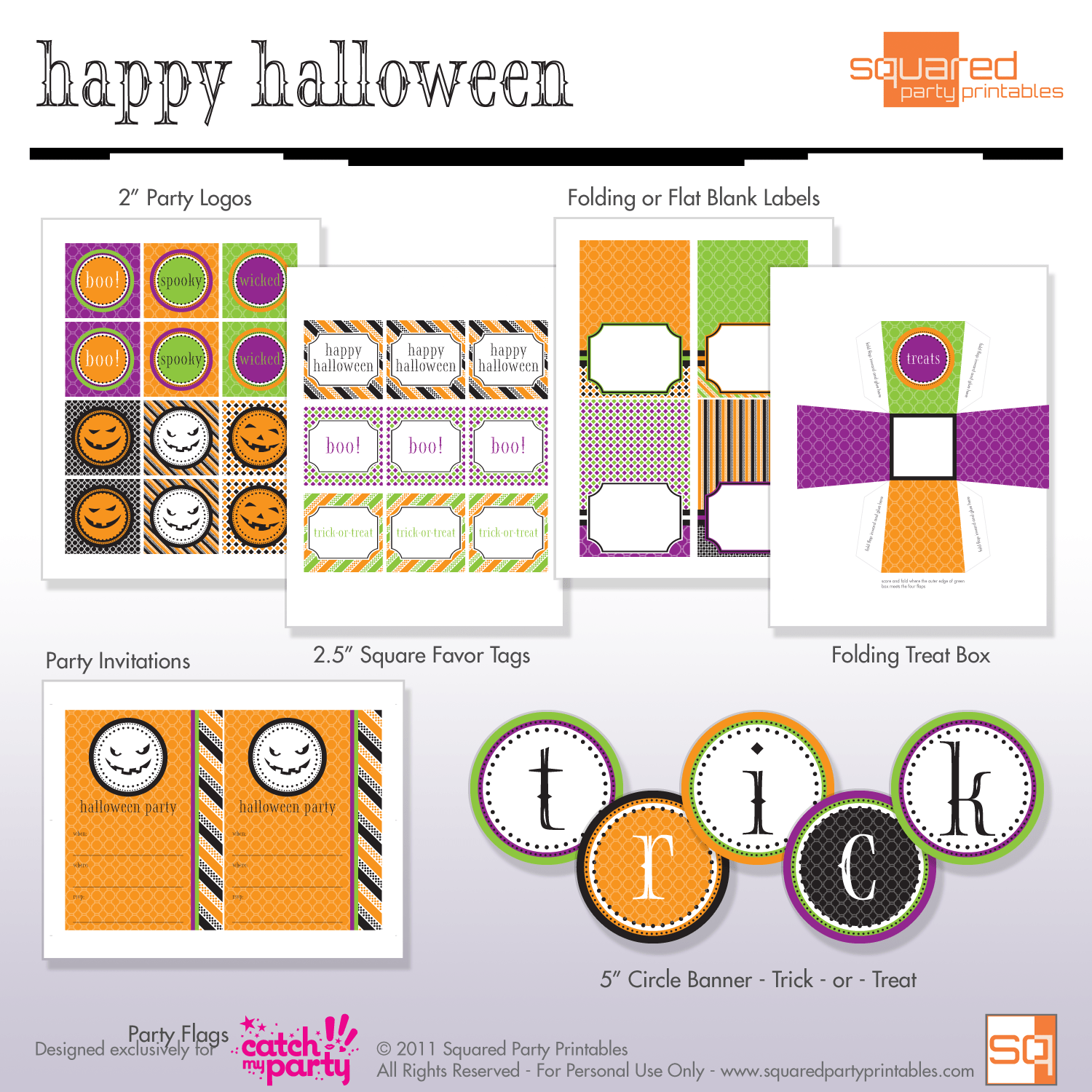 Fun And Facts With Kids Halloween Free Printables