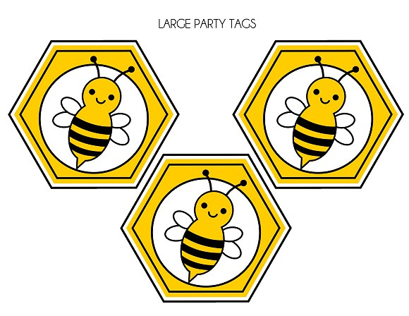 FREE Bumble Bee Party Printables From Printabelle Catch