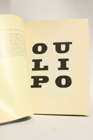 atelier d'écriture créative - oulipo