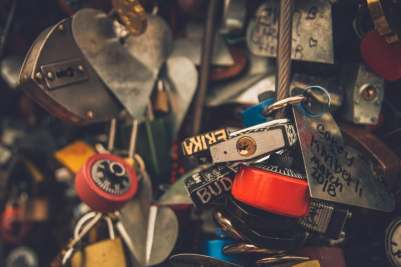 la clé secrète - cadenas