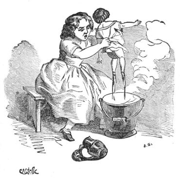 Illustration « Les Malheurs de Sophie » de la Comtesse de Ségur - Littérature jeunesse
