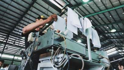 Imprimerie - La chaîne du livre - produire