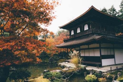 Un automne à Kyôto - automne temple