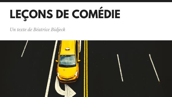 Leçons de comédie / visuel