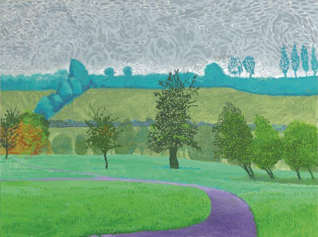 Dose d'art confiné - David Hockney