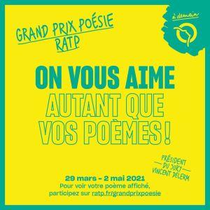 Grand prix Ratp  - Poésie
