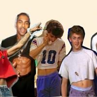 O verão 2016 promete: O cropped começa a invadir o universo masculino.