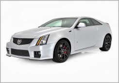 Cadillac CTS-V Coupe Silver Frost Edition