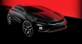 Kia pro-cee'd GT Sketch design (2)