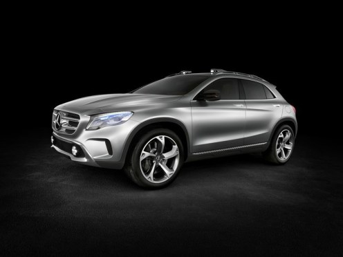 mercedes benz gla concept blog automobile. Black Bedroom Furniture Sets. Home Design Ideas