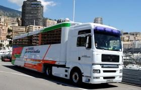 Camion Sahara Force India F1