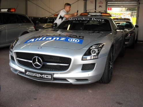 SLS Safety car