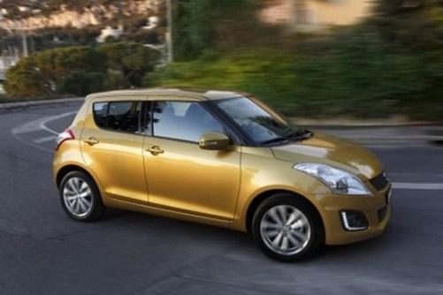 Suzuki-Swift-faceliftée
