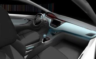 Intérieur Peugeot 208 projet A9 (1)