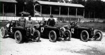 1923 la squadra Alfa à Monza