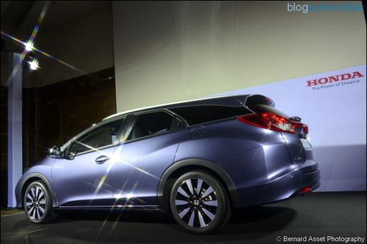 REVEAL OF HONDA CIVIC TOURER