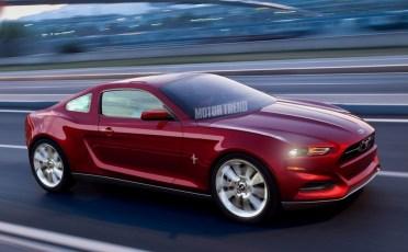 Ford Mustang Mk7 2015 par MotorTrend
