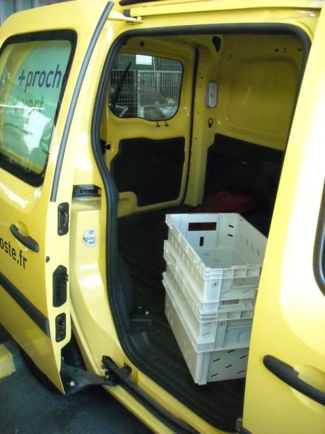 Kangoo Z.E. Renault La Poste (53)