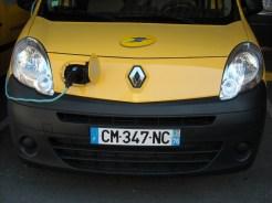 Kangoo Z.E. Renault La Poste (77)