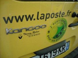 Kangoo Z.E. Renault La Poste (83)