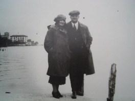enzo Ferrari et Laura garello son épouse morte en 1978