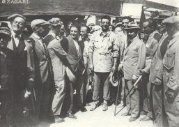 enzo ferrari et Nicola Romeo en 1924 à la Copa Acerbo