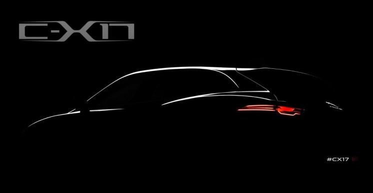 Teaser Jaguar C-X17