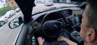 Mercedes Classe S Autonome hands free