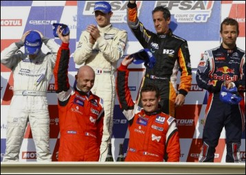 Barthez sacré champion de France GT