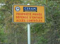 CERAM - Panneau entrée