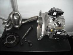 Eclaté_moteur 208 HYbrid FE (1)
