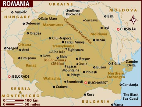 map_of_romania