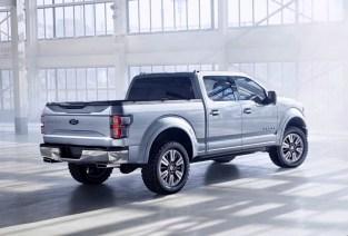 Ford F150 Atlas Concept NAIAS 2013