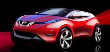 Nissan Qashqai sketch