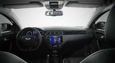 World Premiere Qoros 3 Hatch - dashboard