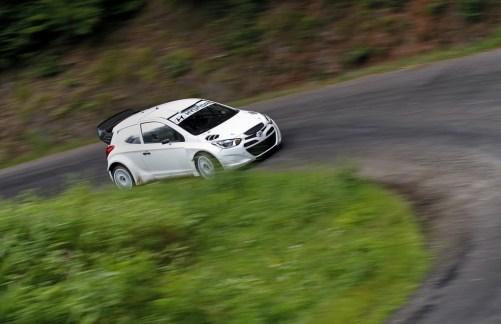 Bryan Bouffier Hyundai i20 WRC Test