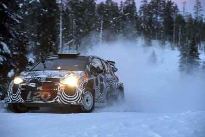 i20 WRC Snow Test 2