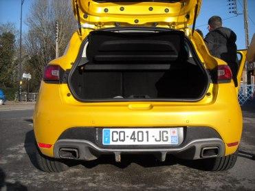 Coffre Clio IV RS