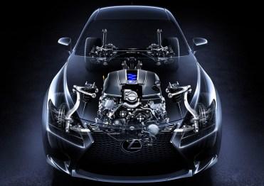 Lexus RC-F Pack Sport Line