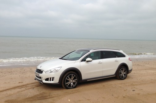 Peugeot 508 RXH W24 Beach Party 01