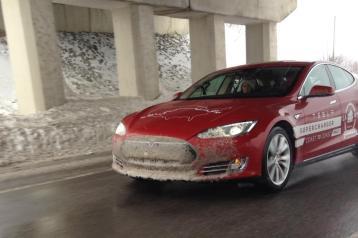 Tesla Model S Coast to coast