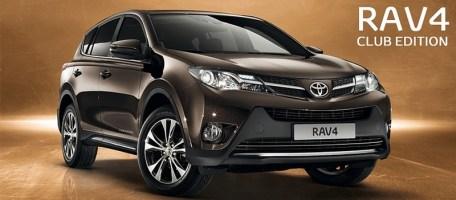 Toyota Rav4 Club Edition
