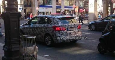 BMW Serie 2 Active Tourer spyshot 1