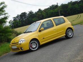 Clio RS1 jaune