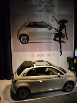 Fiat 500 C Guerlain