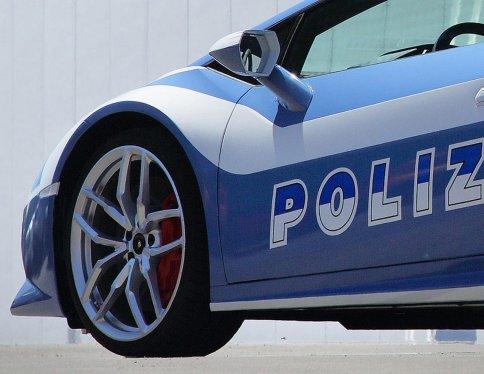 Lamborghini Huracan pour la police italienne