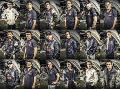 Peugeot 2008 DKR Team - Portrait