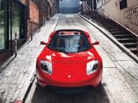 tesla roadster avec 400 miles d'autonomie